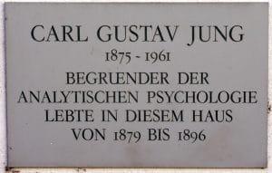 Carl Gustav Jung emléktábla
